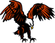 Franklin logo: eagle
